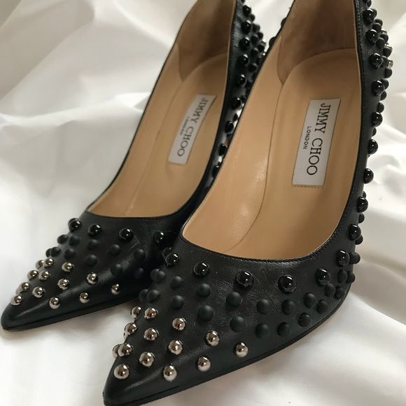 b0877f49239c Jimmy Choo Shoes - Jimmy Choo Abel Studded Pumps